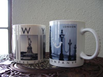 スターバックスマグカップ ニューヨーク ロンドン
