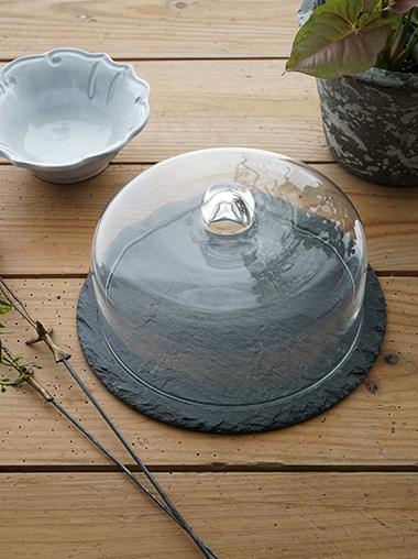 スレートガラスドーム