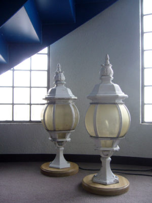 アンティーク外灯ポストランプ