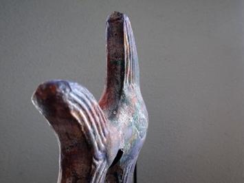 魚のアートオブジェ