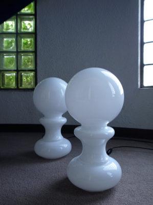 イタリアンガラステーブルライト