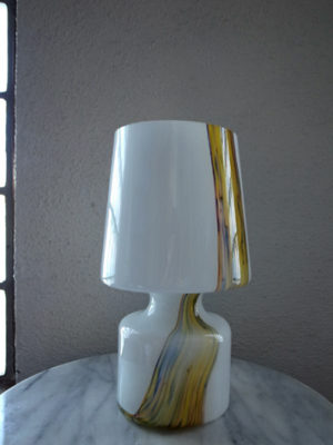 モダンヴィンテージガラスデスクライト