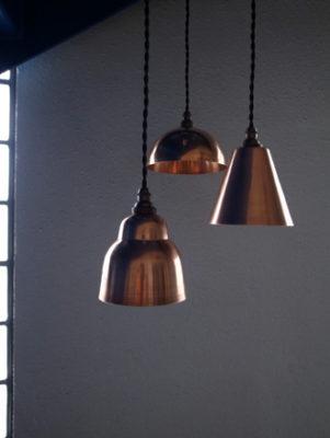 銅製コッパーペンダントライト