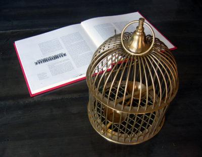 鳥かごバードゲージキャンドルホルダー