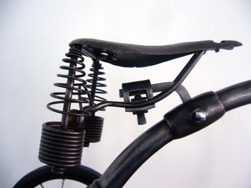 ヴィンテージインダストリアルオブジェ三輪車