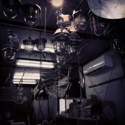 アンティーク照明の修理メンテナンス