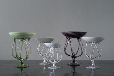 クラゲアートガラスオブジェ