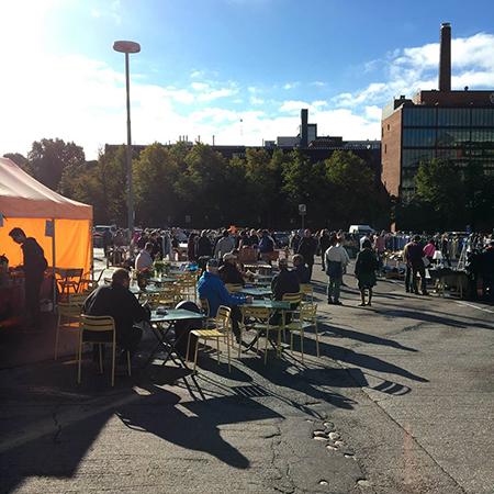 ヘルシンキの蚤の市