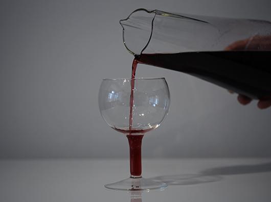 Christian Metzner wine glass