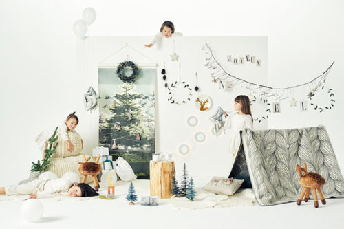 Milk JAPON WEB – 聖夜のデコレーションの完成 –