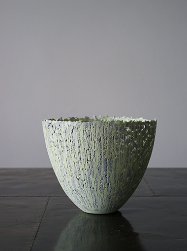 Rika Herbst 作家 磁器 Gray & Green