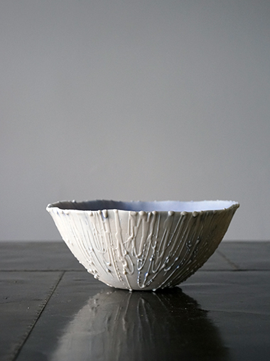 Rika Herbst 作家 磁器 Meltdown Bowl
