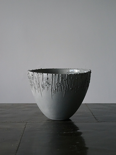 Rika Herbst 作家 磁器 Stained Porcelain Bowls by Rika Herbst