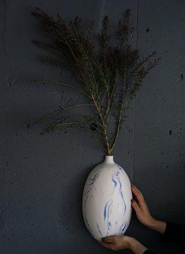 ウォールハングフラワーベース 花器