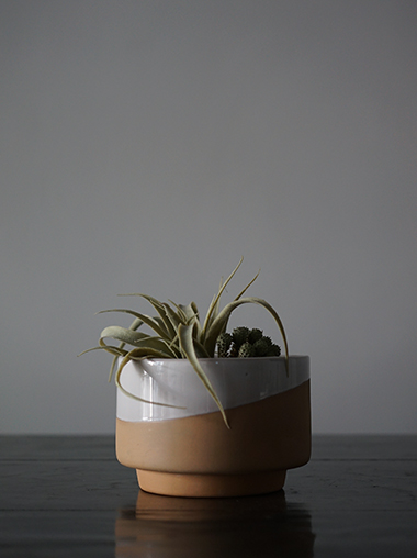 Lagos del Mundo Clay Planter Designed by
