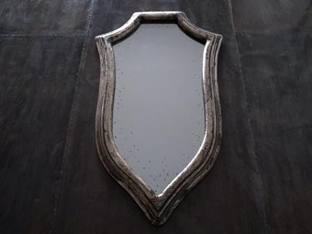ヴィンテージ加工ミラー アンティーク調鏡