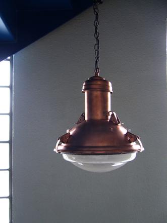 インダストリアルコッパー銅カッパーペンダントライト ヴィンテージランプ照明
