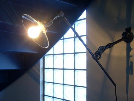 O.C.White インダストリアルブラケットライト