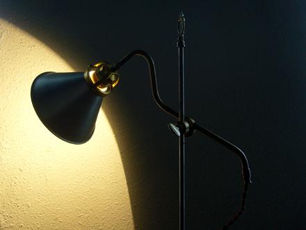 アンティークデスクライト ヴィンテージテーブルランプ フランス照明