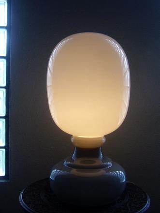 モダンヴィンテージガラステーブルライト デスクランプ照明