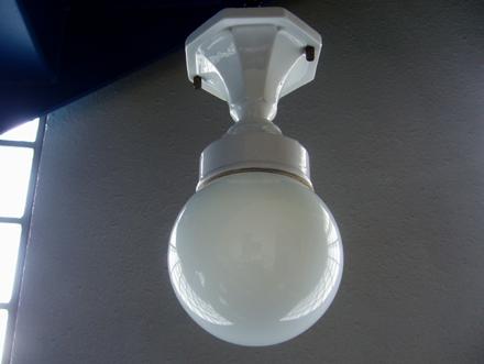 ヴィンテージ シーリングライト アールデコ アンティークランプ照明