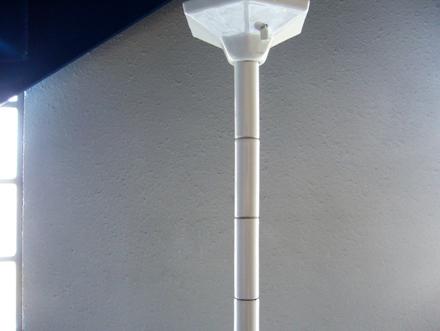 ヴィンテージ 磁器製シーリングライト バウハウス アンティーク ポールライト照明