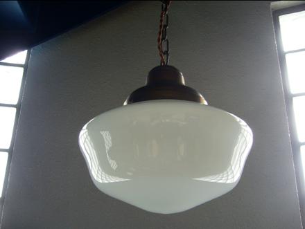 スクールハウスシェードライト照明