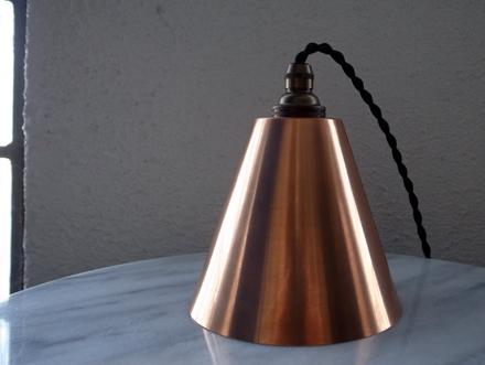 コッパーペンダントライト銅製照明