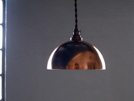 銅製コッパーペンダントライト照明