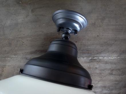スクールハウスシェードシーリングライト照明