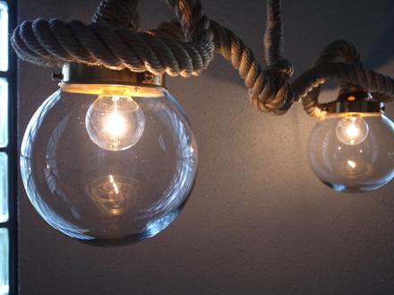 ロープ照明ライト マリンテイストランプ