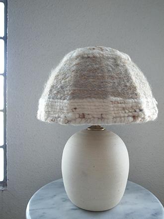 ノットニットランプシェード照明