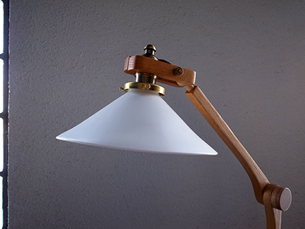 北欧モダンヴィンテージ クランプランプ 照明