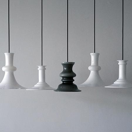Holmegaard 照明 ペンダントランプ