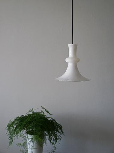 Holmegaard ペンダントランプ 照明 Vintage