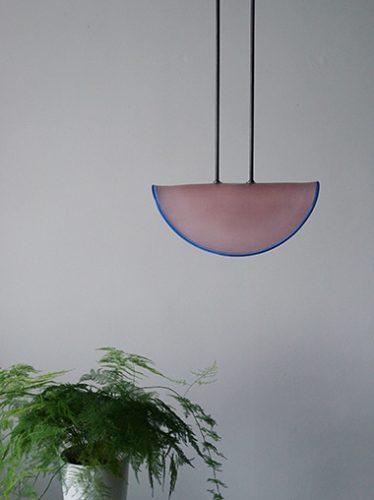 ヴィンテージ イタリアンモダンガラス シーリングライト