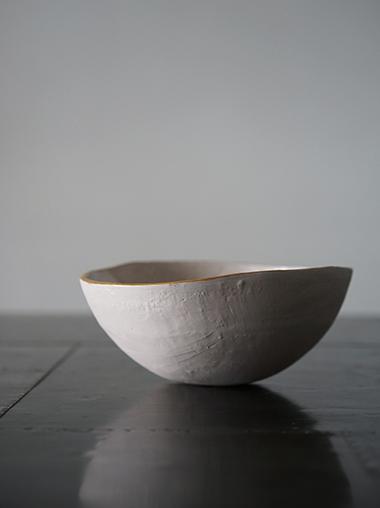 yfNa フランスの陶芸作家 Pink Marble Bowl