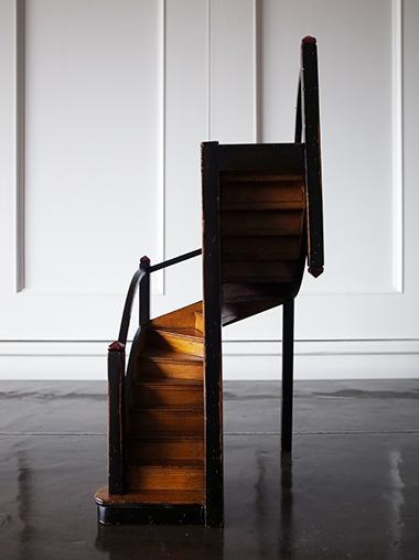 螺旋階段オブジェ 建築模型 Architectural Object