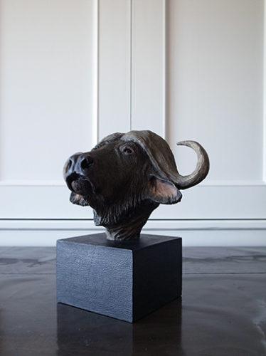 アニマルオブジェ 水牛