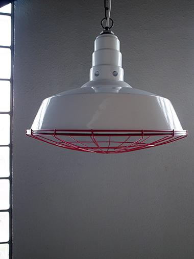 ヴィンテージ インダストリアル エナメルペンダントライト Vintage