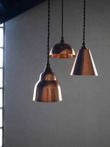 銅製コッパーペンダントライトカッパー照明