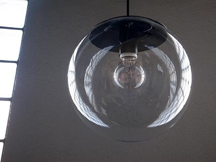 球体ガラスペンダントライト照明