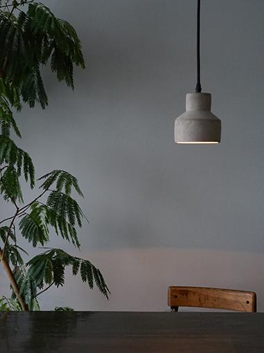 コンクリートペンダントライト照明 Minimalism