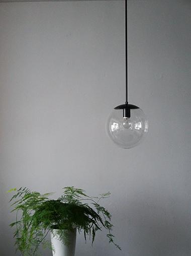 球体照明 ガラスパイプ吊りライト Modern