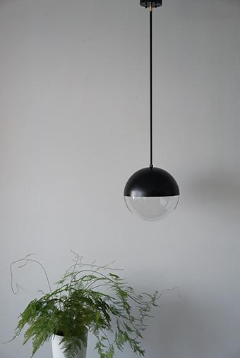 パイプ吊り球体ペンダントライト照明 Modern