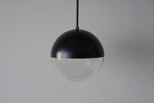 球体ガラスパイプ吊りライト照明