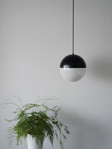 半球体ガラスペンダントライト照明 Modern