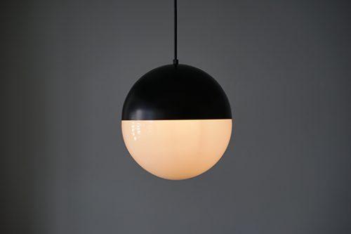半球体ガラスペンダントライト照明