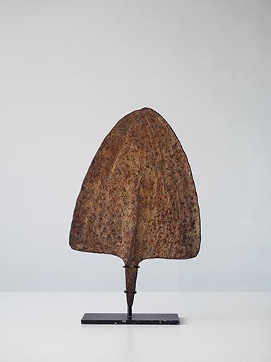 ナイジェリア古代貨幣のアイアンオブジェ アンティーク  Large Iron