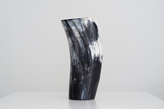 Ziya Kenya カウホーンベース 牛角 花器 Cow Horn Vase